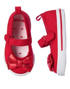 Glitter Bow Sneakers