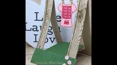 sunday scoring washing line easel card by Heidi Smith Flutterbyheidi Sta...