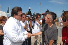 A los veracruzanos nos da mucho orgullo seguir siendo punto de referencia histórico y turístico, aseguró el gobernador Javier Duarte de Ochoa al dar el pizarrazo inicial del rodaje de la serie Revolución.