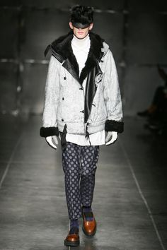 Andrea Pompilio Fall 2014 Menswear Collection Slideshow on Style.com