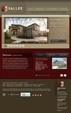 Sallee Development Is Proud To Be A New Home Builder In Kansas City. Sallee  Homes | Website Design