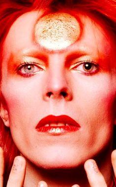 David Bowie, February Photo by © Masayoshi Sukita. Angela Bowie, David Bowie Makeup, David Bowie Ziggy, David Bowie Eyes, Duncan Jones, Ziggy Played Guitar, Moonage Daydream, The Thin White Duke, Major Tom