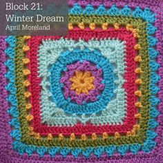 Block 21 of the Block a Week CAL 2014 is April Moreland's Winter Dream. A simple and beautiful square! Photo tutorial done with permission.