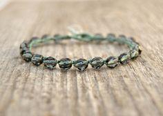 Beach jewelry Crocheted bracelet Beaded crochet by SinonaDesign, $19.00