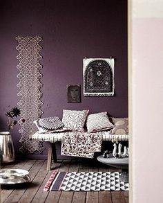 Post Del Color Lila Morado Violeta