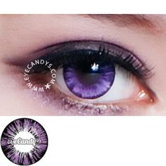 Check out these cute cosmetics from www.eyecandys.com! GEO Forest Violet