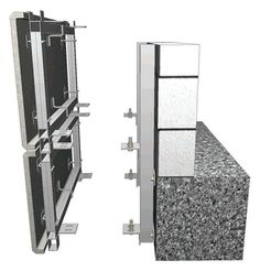 Derzli Plaka Detayı ( Precast - Dış Cephe Kaplama ) Concrete Cladding, Precast Concrete Panels, Stone Cladding, Wall Cladding, Concrete Architecture, Architecture Panel, Architecture Details, Office Furniture Design, Built In Furniture