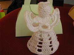Anjo de crochet