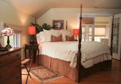 The Barnstable room is decorated in a Ralph Lauren motif and boasts a wonderful private sun porch where you can sit and relax and enjoy our Cape Cod sunsets.