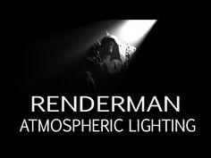 Renderman 20 Atmospheric Lighting Tutorial for Maya
