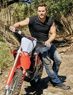 Chris Pratt can give me a ride anytime..