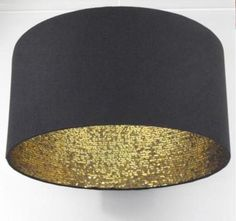 Glitter inside black lamp shade. It's a little to late ro re-do my room.. Therefore I want this for my dorm.