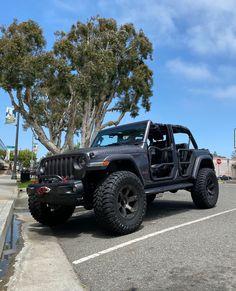 Jeep Wrangler on Matte Black Tint Fuel Off-Road Wheels- Jeep Wheels And Tires, Off Road Wheels, Jeep Rims, Wheel And Tire Packages, Jeep Wrangler, Offroad, Matte Black, Beast, Monster Trucks
