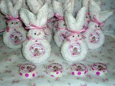 Souvenirs Nacimiento-miniconejos De Toallas-baby Shower-baut ...