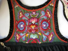 FolkCostumeEmbroidery: Bunad and Rosemaling embroidery of upper Hallingdal, Buskerud, Norway -