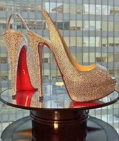 Christian Louboutin the best one shoes glamour featured fashion designer shoes christian louboutin #NMArtofFashion