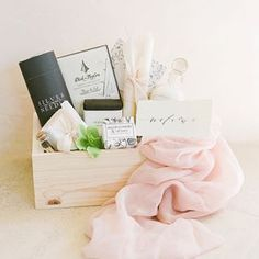 Loved and Found Box Gift Studio: Custom and curated gift boxes for women, men, baby, holidays, events and weddings. Client and corporate gifting services.