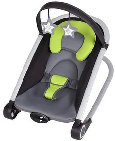 Keep baby calm and happy with this Baby Trend Rock' n Bouncer. A rocker and bouncer all in one, featuring a music center and calming vibrations to soothe and entertain your little one for hours. Baby Calm, Baby Bouncer, Baby Bjorn, Bouncers, Rockn Roll, Kids Store, Reborn Babies, Baby Sleep, Baby Fever