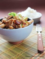 Asian Cashewnut and Chicken Stir Fry