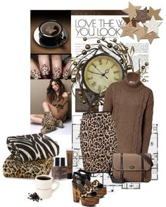 """Love Leopard Print"" by dalejrgirl79 ❤ liked on Polyvore"