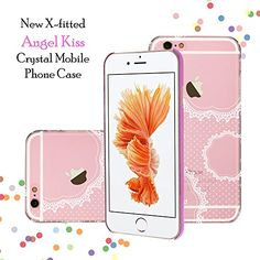 X-Fitted Apple iPhone Fresh Lace Case Hard Plastic Back Cover Decoration Bling with Diamond Ulrasonic Embedded Craft for Apple iPhone Apple Iphone 6s Cover, Iphone Case Covers, Latest Electronic Gadgets, Amazon Mobile, Back Cover Design, Crystal Mobile, Mobile Covers, Mobile Phone Cases, Mobile Accessories