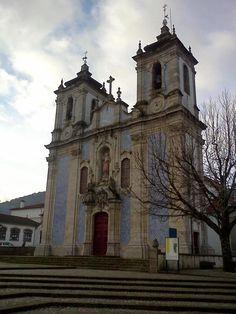 Igreja Matriz do Salvador - Ribeira de Pena fotografia de Bráulio Ferreira
