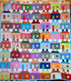 Another beautiful quilt from Mina in Texas via the H2H charity quilt drive!