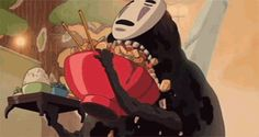 Community Post: 26 Gifs That Prove Miyazaki Is A Total Foodie