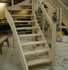 Best Open Staircase With Wood Treads And Risers Give Us A 400 x 300