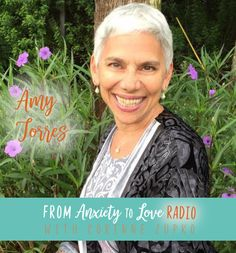 "Today on From Anxiety To Love Radio I'm thrilled to welcome Amy Torres. We dive into the topic of dealing with overwhelm from a spiritual yet practical standpoint.   For a limited time, get ""F…"