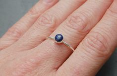 Lapis Lazuli and sterling silver ring £34.00