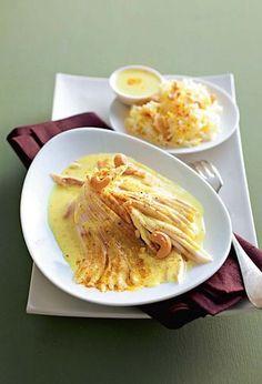 Aile de raie au curry