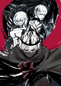 Tokyo Ghoul - Kaneki - Eto - Arima