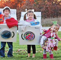 Ah! Comme les enfants auront du plaisir à revoir en photo leur costume le plus ingénieux fabriqué de vos mains! Allez, hop! Faites appel à votre imagination pour créer un déguisement original!