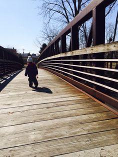 Beautiful sunny morning on the Y bridge!
