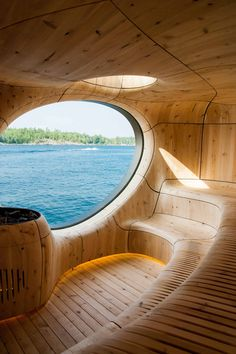 What do you think about this sauna? Grotto Sauna Designed by Partisans Located in Georgian Bay, Canada Organic Architecture, Interior Architecture, Interior And Exterior, Room Interior, Best Interior Design, Interior Design Inspiration, Interior Decorating, Blog Inspiration, Design Interiors