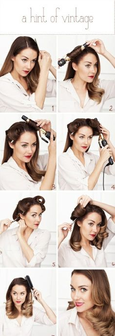 Vintage waves how-to
