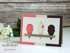 Stampin' Up! UK - Cards, Ideas and Tutorials from Stamping With Val. Shop Online Here 24/7 - Stampin' Up! Cool Treats