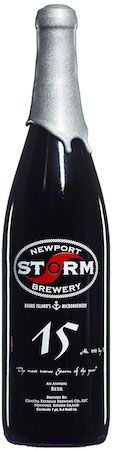 New from Newport Storm Brewery: A black beer inspired by bacon.