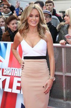 Amanda Holden at Britain's Got Talent Set in London...