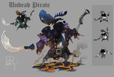 ArtStation - Pirate, Evan Yovaisis