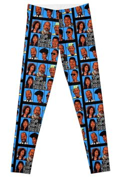 Super stretchy and durable polyester full-length leggings. Vibrant high-quality sublimation print across the front and back. Size range XXS-XL. FRESH PRINCE OF BEL-AIR / BRADY BUNCH STYLE PARODY ART Prince Of Bel Air, Fresh Prince, Friday The 13th Poster, Vibrant, Range, Leggings, Art, Style, Products