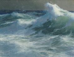 Paintings about the sea: seascapes, maritime or nautical painting, marine art, coastal scenes. Beach Landscape, Landscape Art, Landscape Paintings, Seascape Paintings, Oil Paintings, Painting Art, Nautical Painting, Ocean Scenes, Sea Art