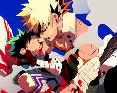 Boku no Hero Academia || Midoriya Izuku || Bakugou Katsuki