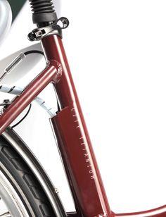 Bicicleta eléctrica Titanium con cuadro de aluminio