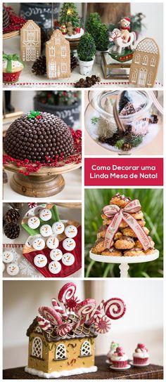 Decoração de Natal Bella Fiore, como montar uma linda mesa principal / Christmas decoration Bella Fiore production