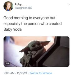 """Cute Baby Yoda Memes Because The Internet Can't Even - Funny memes that """"GET IT"""" and want you to too. Get the latest funniest memes and keep up what is going on in the meme-o-sphere. Funny Quotes, Funny Memes, Hilarious, Funny Shit, Funny Stuff, Yoda Meme, Yoda Funny, Rasengan Vs Chidori, Because The Internet"""