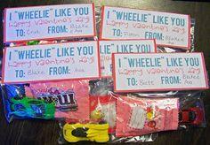 Hot wheels valentine