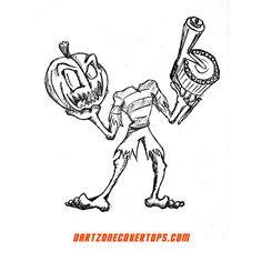 #halloweencoustume idea? Blasters avail at: http://dartzoneblasters.com/