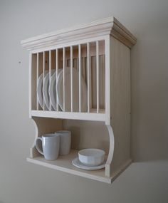 Wall Mounted 10 Plate Rack